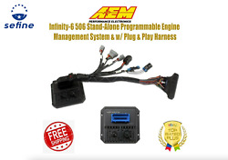 Aem Infinity-6 506 Stand-alone Ems W/plug And Play Harness For 00-05 Honda F20 F22