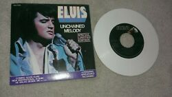 Elvis Presley Single 45 Unchained Melody Softly As I Leave You White Vinyl 1978