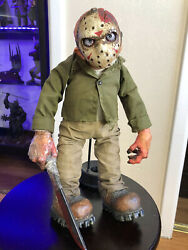 Mezco Cinema Of Fear Plush Jason Voorhees Complete 2007 Friday The 13th Horror