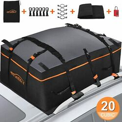 Waterproof Universal Car Rooftop Cargo Bag Luggage 20 Cb Ft Carrier Suv Truck