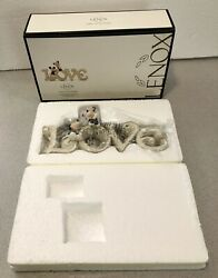 Lenox Mickey And Minnie Mouse True Love Figurines