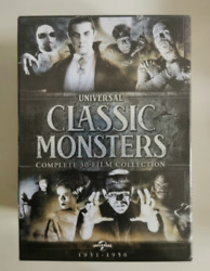 Universal Classic Monsters Complete 30-film Collection Dvd21-disc Set New