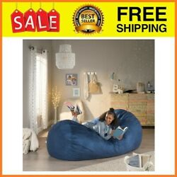 Bean Bag Chair Giant Large Dorm Furniture 8 ft Sofa Lounge College Couch