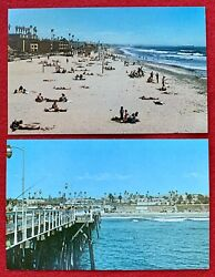 OCEANSIDE BEACH AND VIEW FROM FISHING PIER LOT $4.99