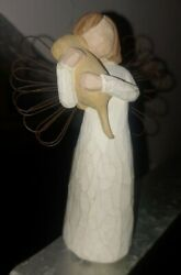 Willow Tree Angel Of Friendship Girl With Puppy Dog 5 Susan Lordi 1999 Demdaco