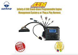 Aem Infinity-6 506 Stand-alone Ems W/plug And Play Harness For 92-95 Honda B D H