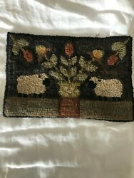 Peggy Teich American Made Hand Hooked Rug