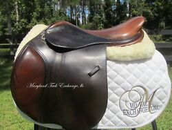 18 Tad Coffin A5g2 Close Contact Jumping Saddle- Front+ Back Blocks-2007 Model