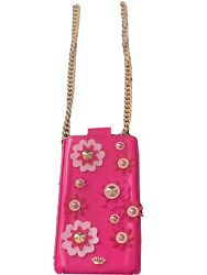 Juicy Couture Hot Pink Crossbody Travel Phone Holder $15.00