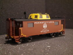 Bowser N-8 Caboose 41092 Prr Keystone Road 478035 Red/yellow Cupola
