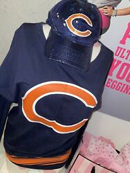Rarevictoria's Secret Pink Chicago Bears Nfl Hat Football Collection Varsity