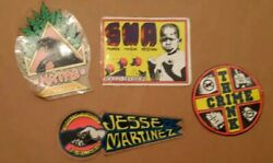 4 Used 80and039s Rocco Skateboard Stickers Natas Jesse Martinez Santa Monica Airlines