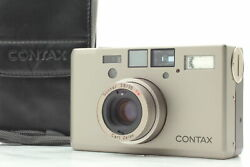 [top Mint Case] Contax T3 Titan Silver Point And Shoot Film Camera From Japan