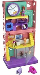 Polly Pocket Pet Place 4 Floors With 2 Micro Dolls Kids Fun Play Toy Playset New