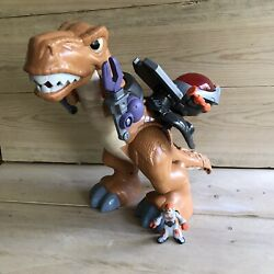 Fisher-price Imaginext T-rex Jurassic World Dinosaur Battery Toy Tested And Works