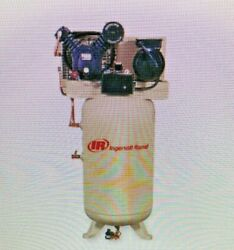Ingersoll Rand 3 Phase - Electrical Vertical Tank Mounted 5.0hp - Air Compressor