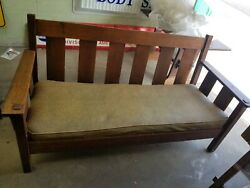 Stickley Brothers Settee 612