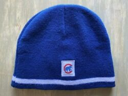 New Mlb Chicago Cubs Sga Old Style Beanie Winter Ski Hat One Size Fits Most