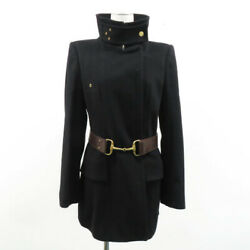 Wool Trench Coat Cashmere Mixed Black System 40 240001467402 Women _82172