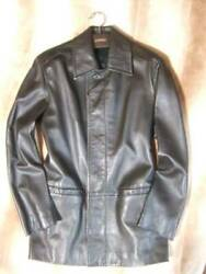 Leather Coat Size 44 Regular Store Purchase Items _82666