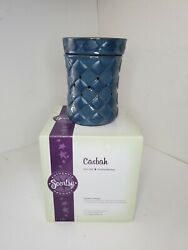 New Scentsy Warmer Full Size Retired Casbah Blue