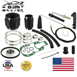 For Mercruiser Alpha One Sei Transom Seal Bellows Kit With Lower Shift Cable