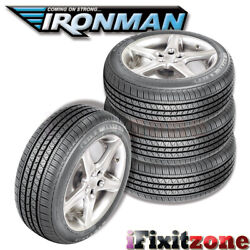 4 Ironman Rb-12 Rb12 Nws 205/70r15 96s White Wall All Season Performance Tires