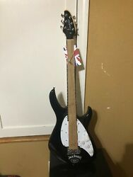 Jack Daniels Electric Guitar Brand New In Box Man Cave Decor Tanglewood Whiskey