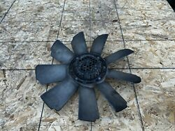 ENGINE COOLING FAN WITH CLUTCH MERCEDES W126 560 SEL 1986 1991 OEM $200.00