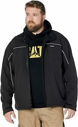 Caterpillar Menand039s Soft Shell Jacket Regular And Big And Tall Sizes