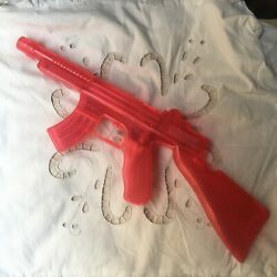 Plastic Water Squirt Rifle Gun Toy Old Stock Avc Made In Spain