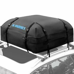 Tchipie Car Rooftop Cargo Carrier Bag Suv Roof Top Luggage Carrier Fit For Al...