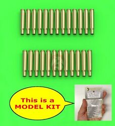 Master 1/16 M1919 An/m2 Browning .30 Cal 7.62mm Empty Shells 25 Pc Gm-16-003