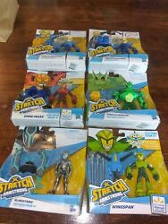 New Stretch Armstrong And The Flex Fighters Action Figures Set Of 6 Figures New
