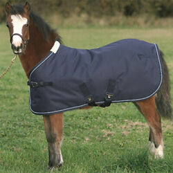 Mark Todd Foal Turnout Rug Light/mediumweight 150g Fill 600d Navy 3and0390and039and039 - 5and0390and039and039