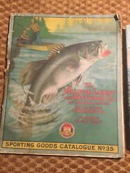1928 No. 35 Allcock Laight And Westwood Sporting Goods Catalog Fly Fishing Hunting