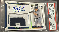 Ty France 2019 National Treasures Rpa Rc Rookie Auto 9/25 Gem Psa9/10 Holo Gold