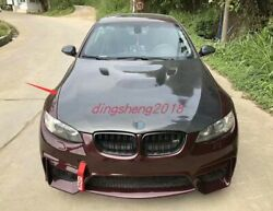 Real Carbon Fiber Front Hood Vented Bonnet Cover Fit For Bmw 3 Series E90 2017