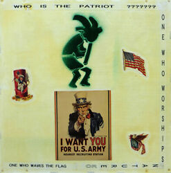 Chuck Bowdlear The Patriot Ii Liberal Social Commentary Collage On Board