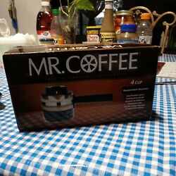 Mr. Coffee Replacement Decanter 4 Cup Espresso Cappaccino Makers Fits Ecm21.....