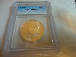 1965-p Icg Ms 67 Kennedy Half Dollar Lists 2750.00 Rare In This Grade