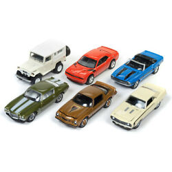 Classic Gold 2017 Release 4 Set A Of 6 Cars 1/64 Diecast Model Cars By Johnny...