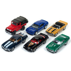 Classic Gold 2017 Release 4 Set B Of 6 Cars 1/64 Diecast Model Cars By Johnny...