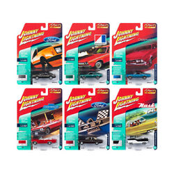 Classic Gold 2018 Release 2 Set B Of 6 Cars 1/64 Diecast Models By Johnny Lig...