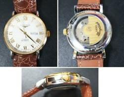 Longines Master Collection L2.619.2 Day-date Automatic White Dial Watch