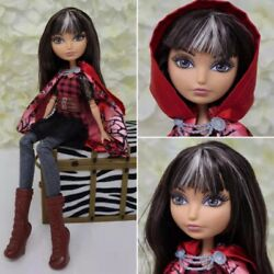 Mattel Ever After High Cerise Hood Doll Rebel With Red Cape Beautiful
