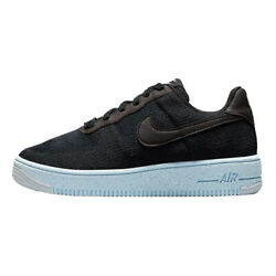 Nike Air Force 1 Crater Flyknit Black Chambray Blue Mens Size 7-12 Dc4831-001