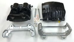 New 1994-2004 And03994-and03904 Mustang Cobra Front Calipers Powder-coat Black