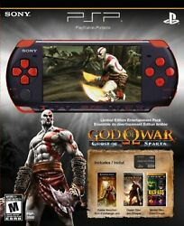 Playstation Portable Limited Edition God Of War Ghost Of Sparta 1e
