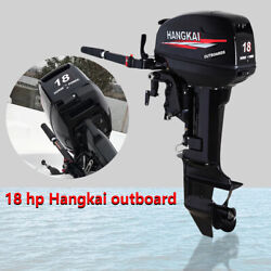 2stroke 18hp ⭐⭐outboard Motor Engine Fishing Boat ⭐⭐ Water Cooled System 13.2kw